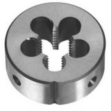 Плашки машинные и ручные круглые метpические правые
