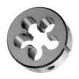 Плашки машинные и ручные круглые метрические левые